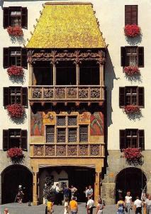 Innsbruck Tirol, Goldenes Dachl in der Altstadt, The Golden Roof in the Old Town