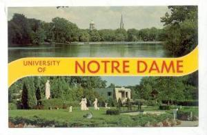 University of Notre Dame, Indiana, 40-60s
