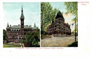15465  MA Worcester  Classical High School and English High School