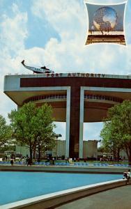 NY - New York World's Fair, 1964-65. NY Port Authority Heliport and Exhibit