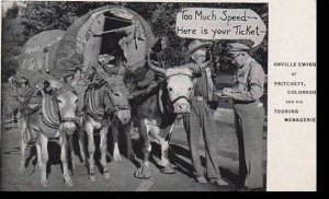 Colorado Pritchett Orville Ewing & His Touring Menageria Curteich