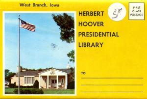Folder - Herbert Hoover Presidential Library, West Branch, IA  - 13 views + n...