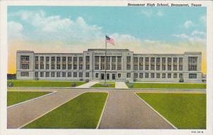 Texas Beaumont High School Curteich