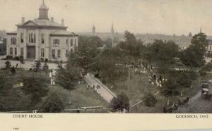 GODERICH , Ontario , Canada , 1900-10s ; Court House