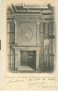 Chateau de Blois, Aile de Francois 1er, Bibliotheque
