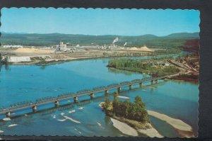 Canada Postcard - Oil Refinery, Prince George, British Columbia  RS20373
