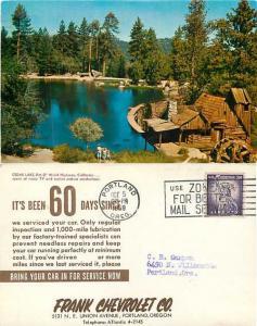 Scene Advertising for Frank Chevrolet, Portland, Oregon, Chrome, Cedar Lake CA