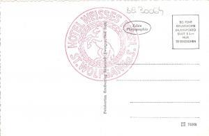 BG30064 st wolfgang u zinkenbach vom schafberg austria   CPSM 14x9cm