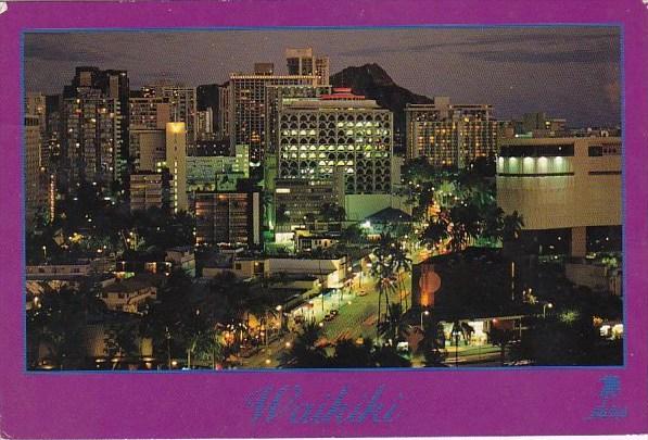 Hawaii Honolulu Waikikis Bright Lights 1930