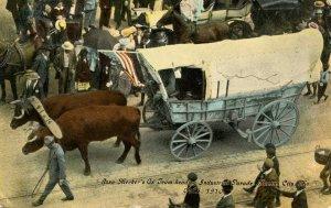 Ezra Meeker - Industrial Parade, Kansas City, Missouri on Oct. 5, 1910