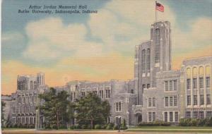Indiana Indianapolis Arthur Jordan Hall Butler University 1963 Curteich