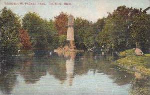 Michigan Detroit Lighthouse Palmer Park 1908