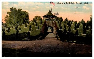 Michigan Detroit, Mount at Belle Isle