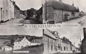 Bothenhampton Dorset Farm Shop Real Photo Vintage Postcard