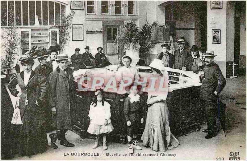 COPY Bourboule refreshment of the Establishment Choussy