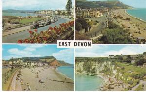 Post Card Devon EAST DEVON Four views