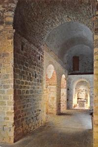 France Mont Saint-Michel (Manche) Eglise Notre-Dame sous terre