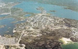 Aerial View  , YELLOWKNIFE , N.W.T. , Canada , 50-60s