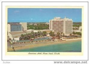 Aerial View, Americana Hotel, Shoreline, Miami Beach, Florida, 40-60