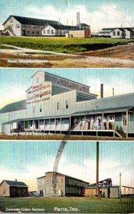 Texas Paris Ames Shoveland Tool Co Whaley Mill & Elevator Co & Cummes Crate F...