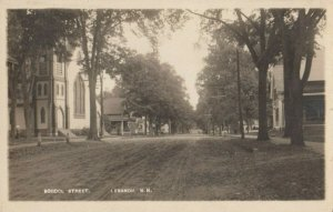 RP; LEBANON , New Hampshire , 1900-10s ; School Street