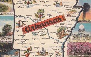 Map , ARKANSAS , 30-40s