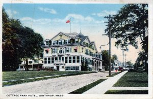 [ ? ] US Massachusetts Winthrop - Cottage Park Hotel