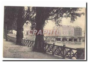 Meaux Old Postcard Promenade Trinitarian and mills of the & # 39echelle