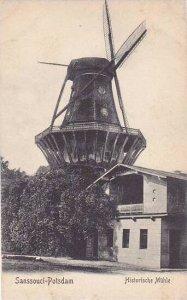 Germany Sanssouci Potsdam Historische Muehle Windmill