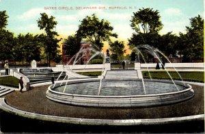 New York Buffalo Delaware Avenue Gates Circle