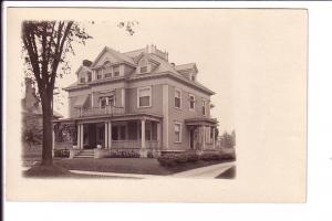 Real Photo, Three Story House,   1904-1918