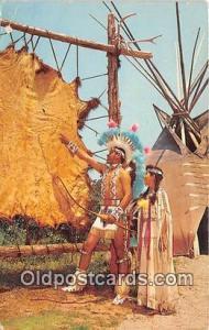Me Gottum Buffalo Indian City, USA Postcard Post Cards Indian City, USA Me Go...