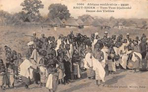 Guinea Soudan Haut-Niger Tam-Tam Djallonke Danse des Vieilles
