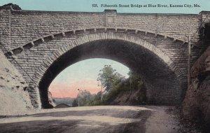 KANSAS CITY, Missouri, PU-1913; Fifteenth Street Bridge At Blue River