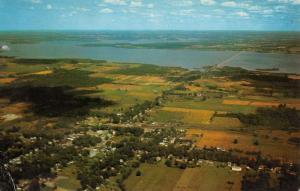 Andover Ohio Aerial View Of City Vintage Postcard K42713