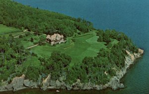 Bird's Eye View Beinn Bhreagh,Baddeck,Cape Breton,Nova Scotia,Canada