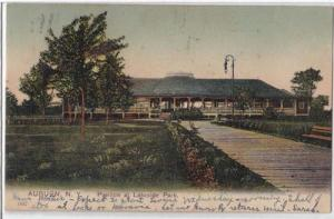 Pavilion at Lakeside Park, Auburn NY