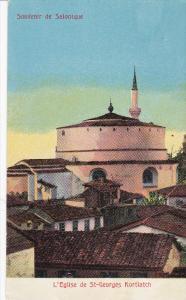 Souvenir De SALONIQUE, Greece, 00-10s; L'Eglise De St-Georges Kortiatch