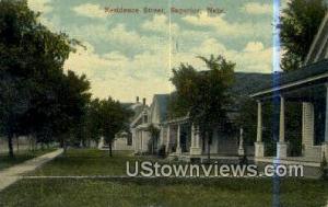 Residence Street Superior NE 1915