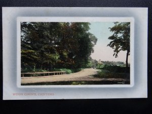 Cambridgeshire CHATTERIS Wenny Corner c1908 Postcard by Frank H. Aspinall