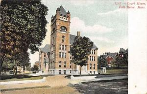 25754 MA, Fall River, 1908, Court House, No. 1587