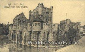 Chateau des Comtes Gand, Gent, Belgium Unused
