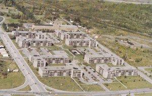 Aerial View, Advertisement for Les Habitations de la Rousseliere, Sherbrooke,...