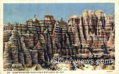 Sheep Mountain Badlands SD 1934