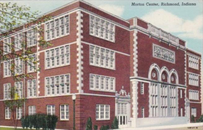 Indiana Richmond Morton Center 1947 Curteich