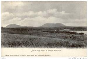 ME Maine, Roach River - House & Spencer Mountains - 00's