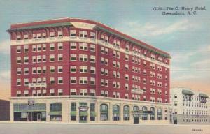 North Carolina Greensboro The O Henry Hotel 1946 Curteich