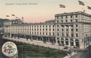 HONOLULU , Hawaii , 1900-10s ; Alexander Young Hotel