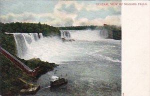 General View Of Niagara Falls New York