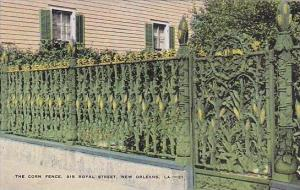 Louisiana New Orleans The Corn Fence 915 Royal Street